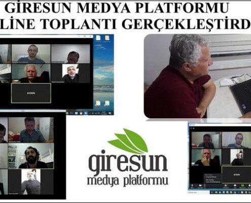 Giresun Medya Platformu Online Toplandı, girmep, giresun medya platformu